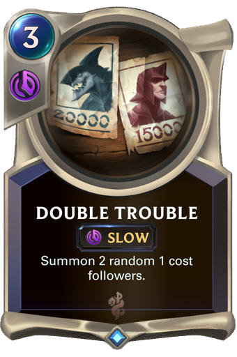 Double Trouble Card Image