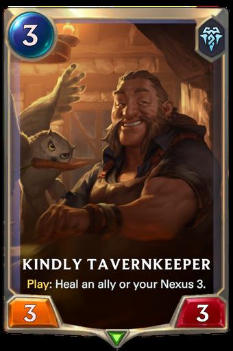 Kindly Tavernkeeper Card Image