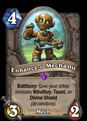 Enhance-o Mechano Card Image