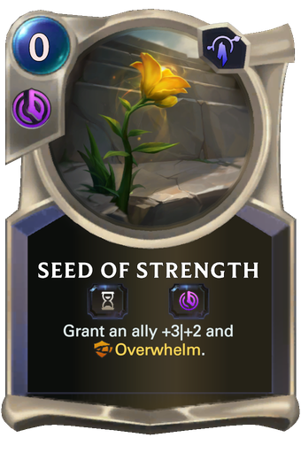 Seed of Strength Card Image