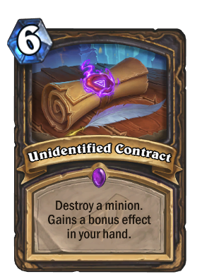 Unidentified Contract Card Image