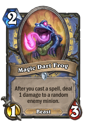 Magic Dart Frog Card Image