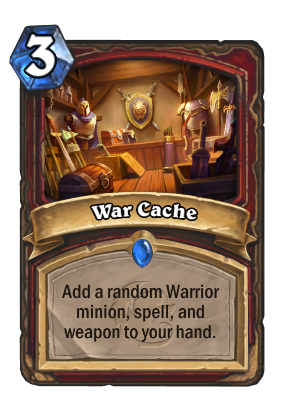 War Cache Card Image