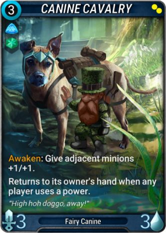 Canine Cavalry Card Image