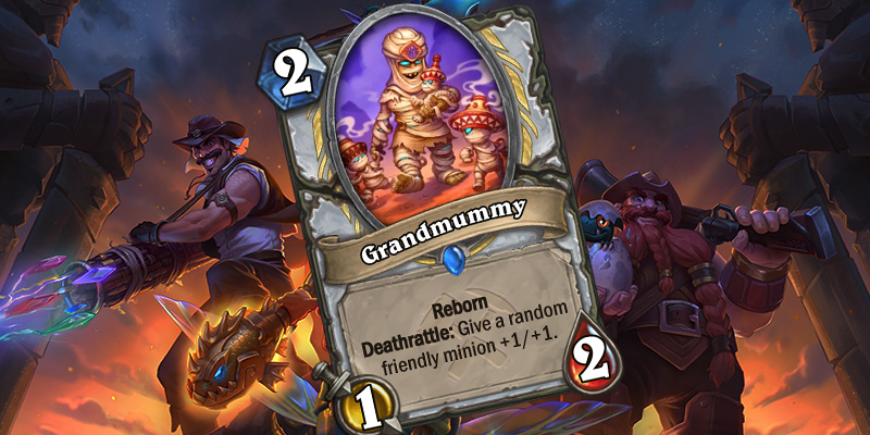 Uldum Priest Card Reveal - Grandmummy
