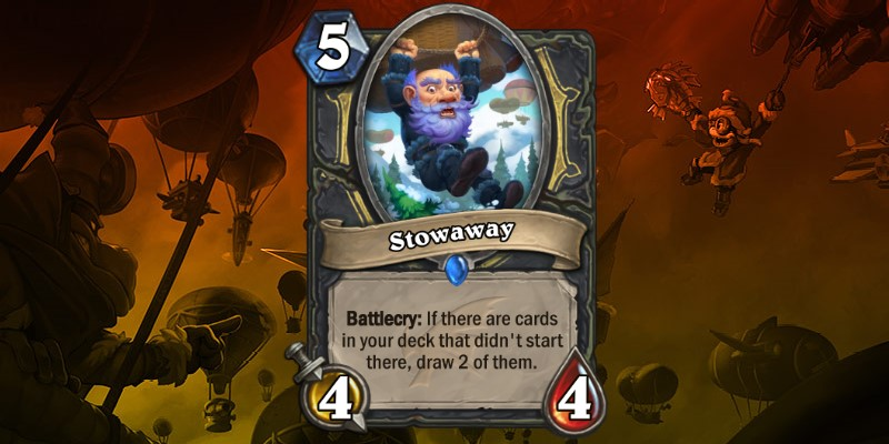 Rogue Card Reveal - Stowaway