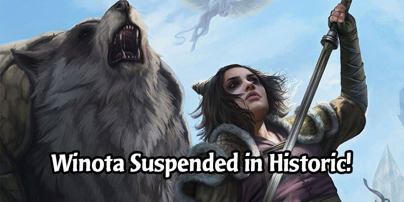 Winota, Joiner of Forces Has Been Suspended From Historic