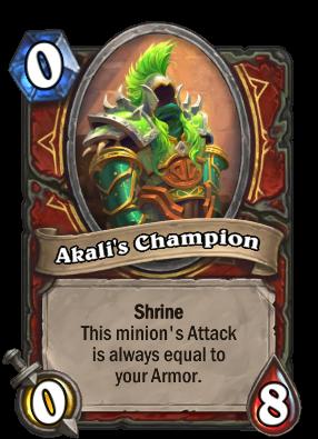 Akali's Champion Card Image