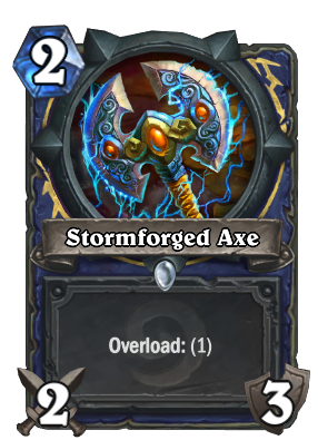 Stormforged Axe Card Image
