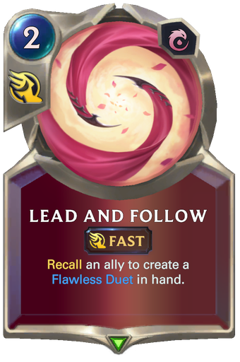 Lead and Follow Card Image