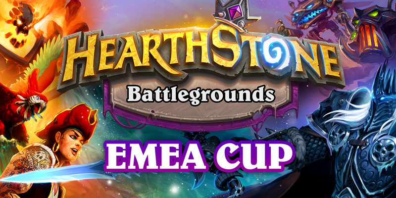 The EMEA Battlegrounds Cup is This Weekend - Hearthstone Esports Temporarily Returns to Twitch