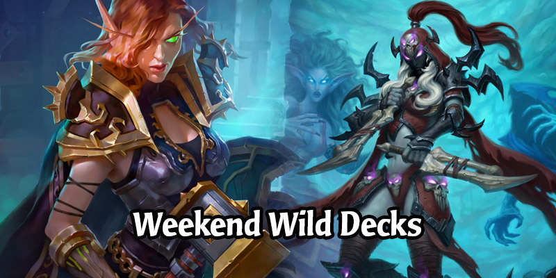 Weekend Wild Hearthstone Decks - Pure Paladin, Mill Rogue, Spiteful Quest Shaman, and More!