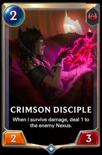 Crimson Disciple Card Image