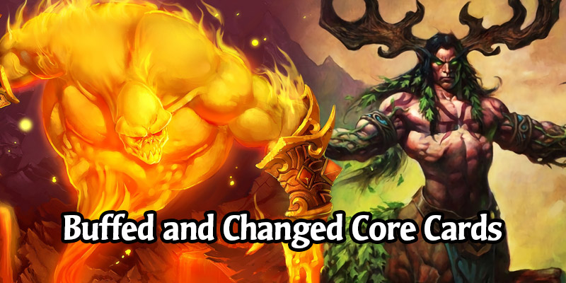 All 51 Returning Cards That Received Buffs and Changes in Hearthstone's New Core Set