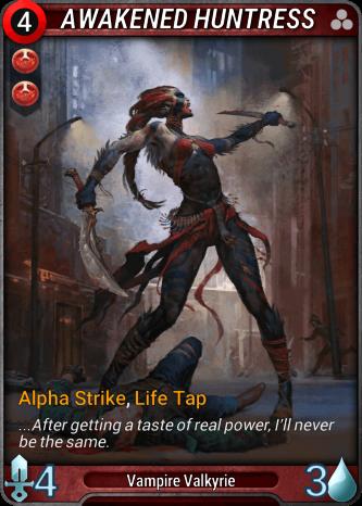 Awakened Huntress Card Image