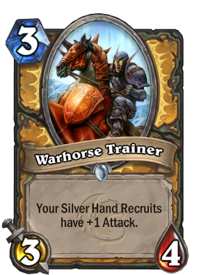 Warhorse Trainer Card Image