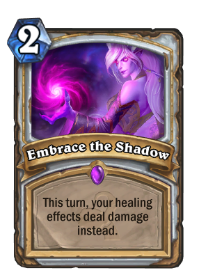 Embrace the Shadow Card Image