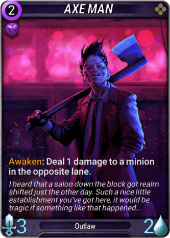 Axe Man Card Image