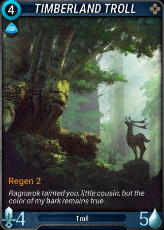 Timberland Troll Card Image