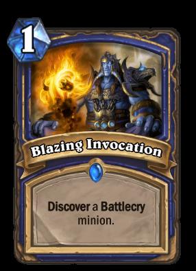 Blazing Invocation Card Image