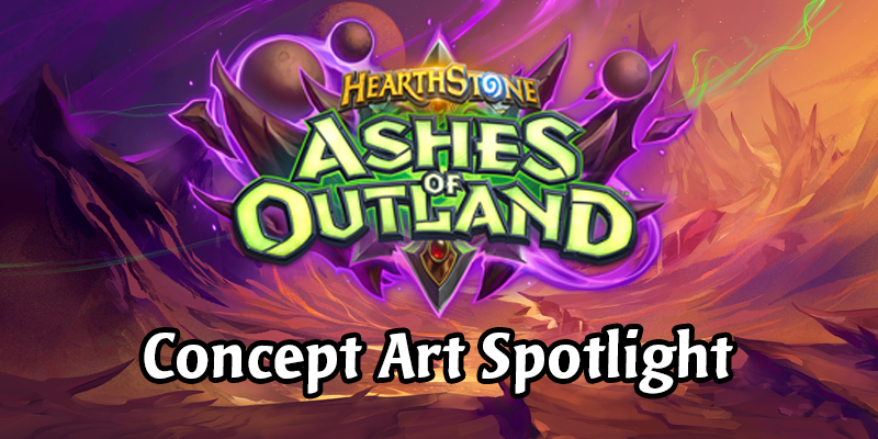 Ashes of Outland, New Priest Cards, Demon Hunter Cards - Concept Art Spotlight