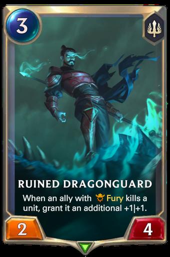 Ruined Dragonguard Card Image