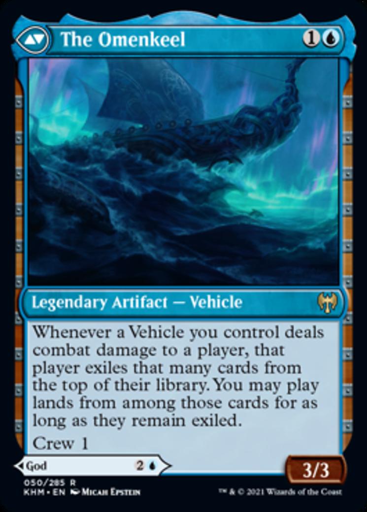 Cosima, God of the Voyage // The Omenkeel Card Image