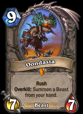 Oondasta Card Image