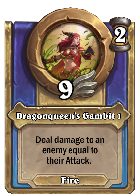 Dragonqueen's Gambit 1 Card Image