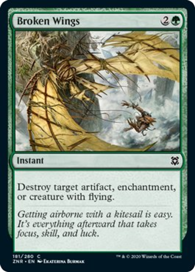Broken Wings Card Image