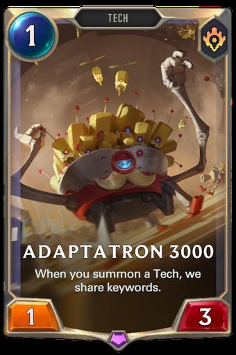 Adaptatron 3000 Card Image