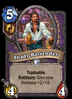 Shady Bartender Card Image