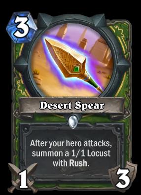 Desert Spear Card Image