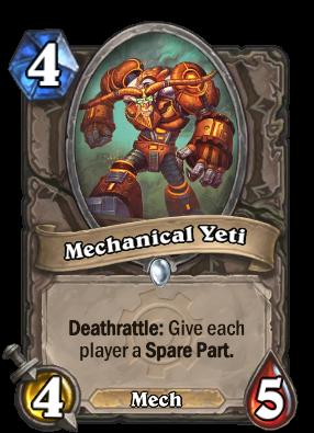 Mechanical Yeti Card Image