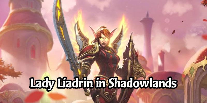 World of Warcraft's Upcoming Shadowlands Level Squish Won't Change Lady Liadrin's Unlock Criteria