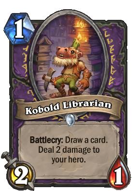 Kobold Librarian Card Image