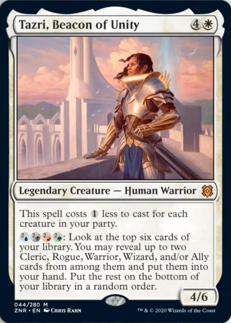 Tazri, Beacon of Unity Card Image