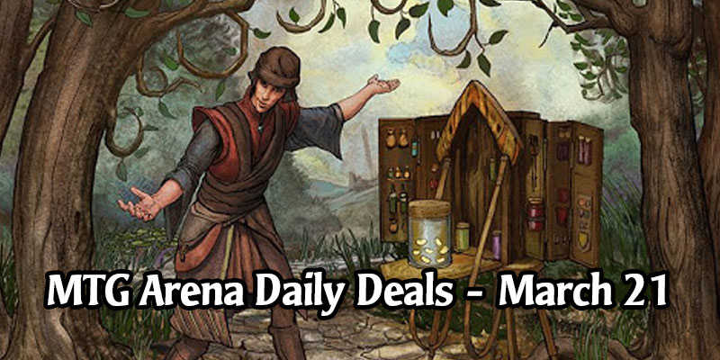Daily Store Deals in MTG Arena for March 21, 2020 - 50% Off 10 Different Eldraine Adventures Part 3