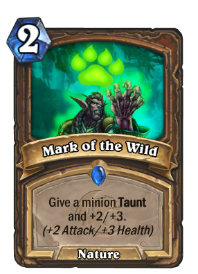 Mark of the Wild Card Image