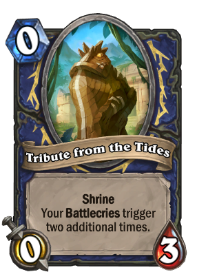 Tribute from the Tides Card Image