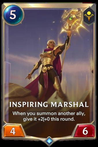 Inspiring Marshal Card Image
