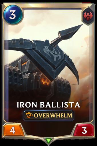 Iron Ballista Card Image