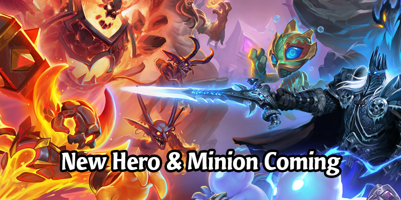 A New Hero and New Minion Are Confirmed For This Week's Hearthstone Battlegrounds Update