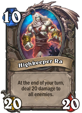Highkeeper Ra Card Image