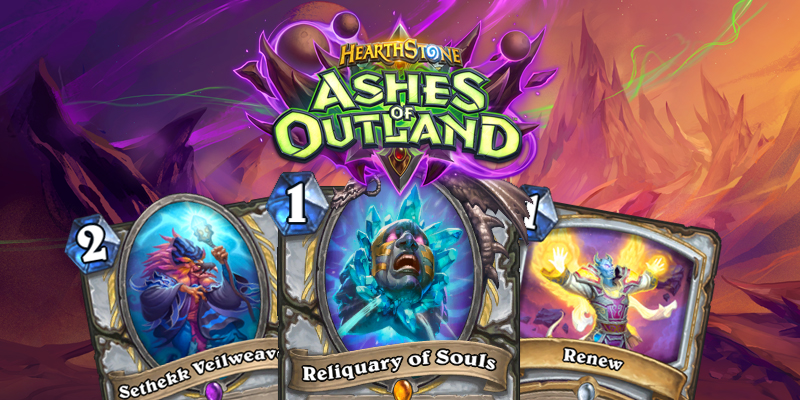 Our Thoughts on Hearthstone's Ashes of Outland Priest Cards