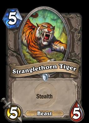 (5) Stranglethorn Tiger