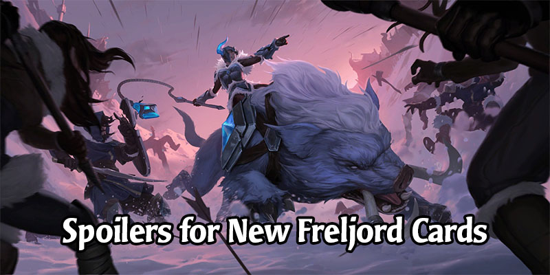 New Legends of Runeterra Champion and Cards Revealed for Freljord