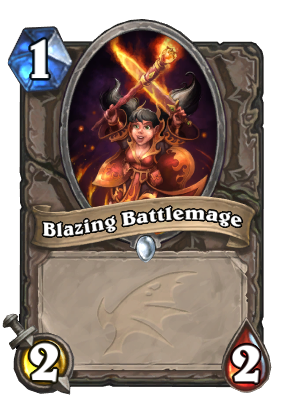 Blazing Battlemage Card Image