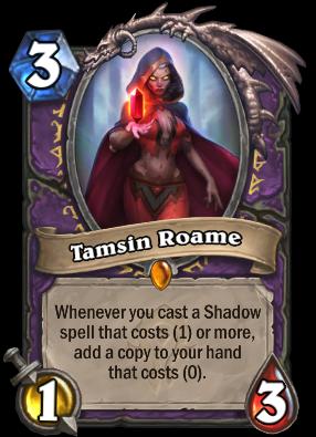 Tamsin Roame Card Image