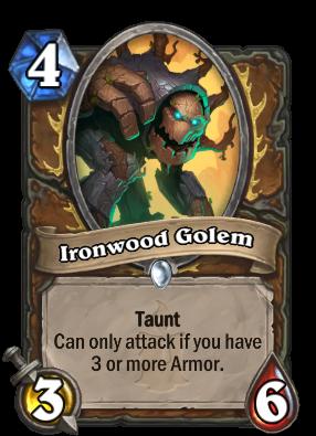Ironwood Golem Card Image